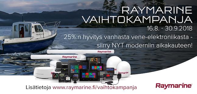 Raymarine vaihtokampanja