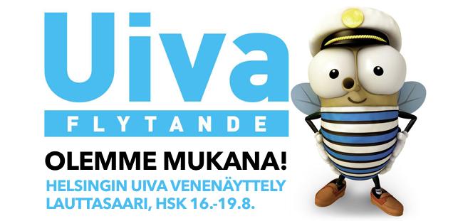 OLEMME MUKANA! HELSINGIN UIVA VENENÄYTTELY LAUTTASAARI, HSK 16.-19.8.